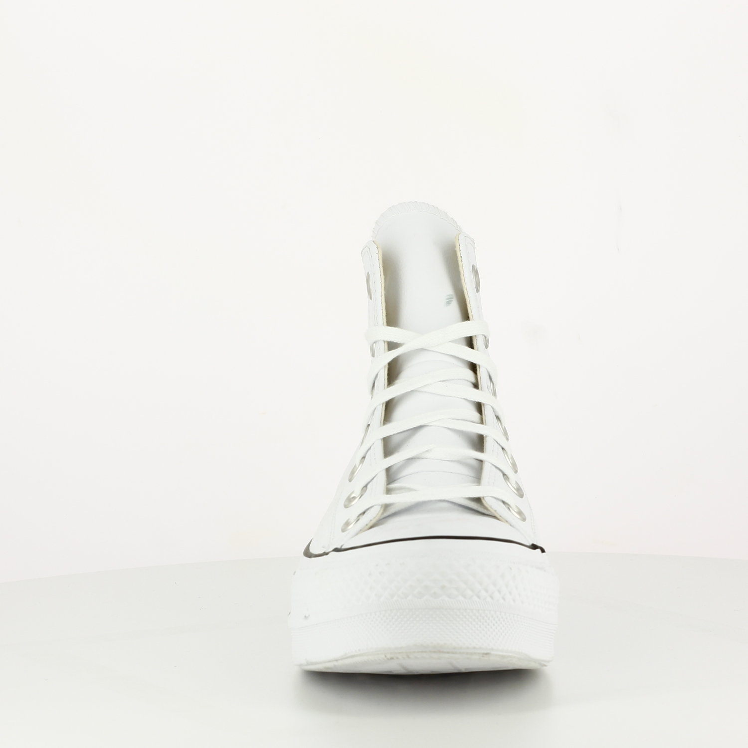 Chuck Taylor All Star Lift Leather High Top White
