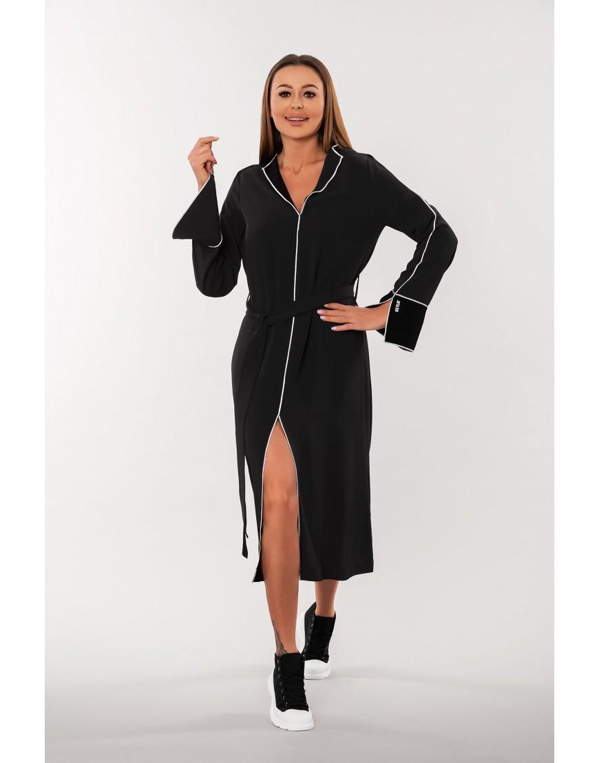 Vestido Ribete Negro