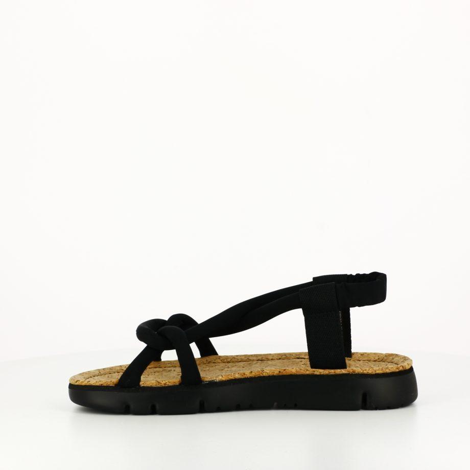 Sandalia Oruga Negra