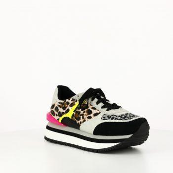 Sneakers Muncie Negro