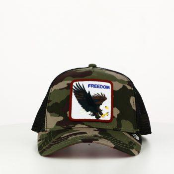 Gorra Freedom Gris