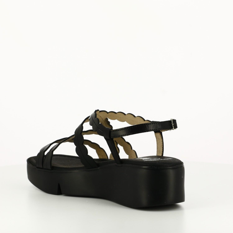 Sandalia Casual Negra
